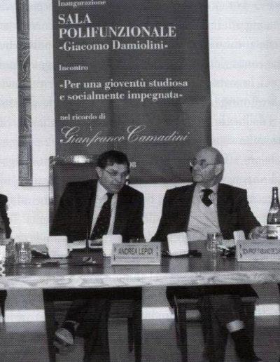 I relatori intervenuti al convegno