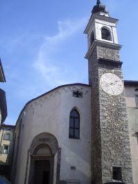 La chiesa di S. Antonio a Breno