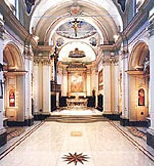 La chiesa parrocchiale di S. Andrea Apostolo.